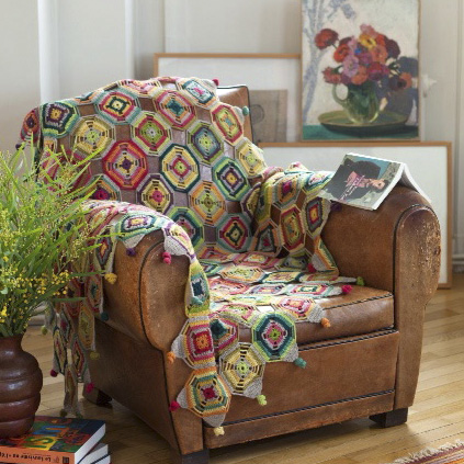 Eclectic gypsy throw